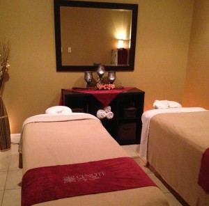 Couples Massage treatment room