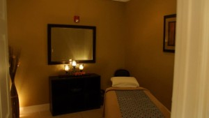Oasis Massage Treatment room