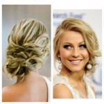 prom hair sideup